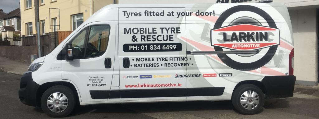 mobile tyre fitting unit dublin