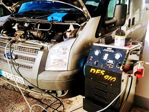 dpf service car