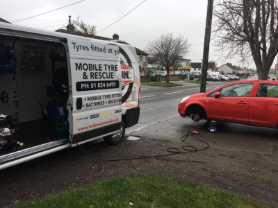 mobile tyre fitting unit dublin