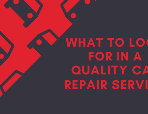What to Look for in a Quality Car Repair Service?
